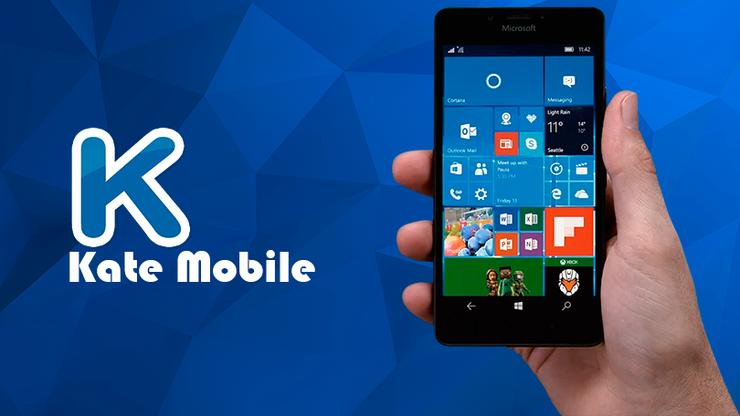 Kate mobile для пользователей Windows Phone 10 скачать